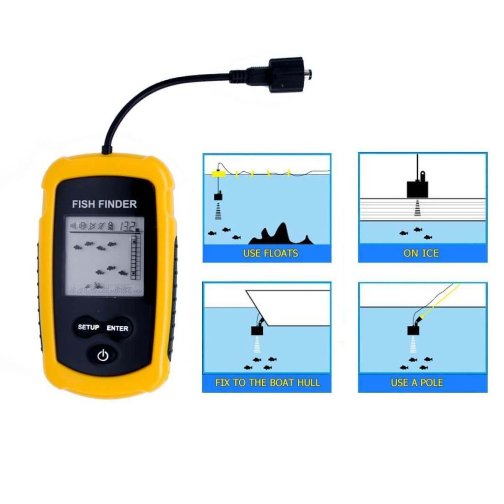 Venterior Portable Fish Finder VT-FF001 review