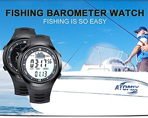 Baby-Touch Digital fishing Barometer fish finder