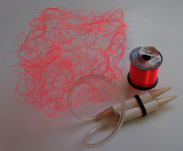Red Monofilament